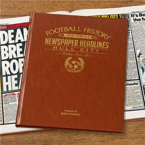 Personalised Hull Football Book